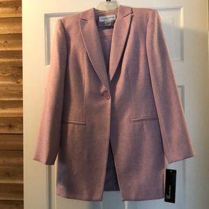 Jones New York 3-piece skirt suit, 8P, Mauve, NWT